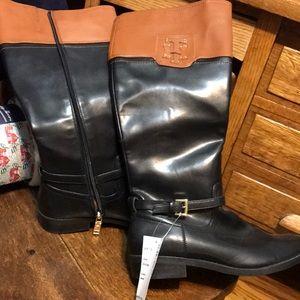 Tommy Hilfiger NWT  7.5 Two Tone Fashion Boots